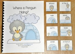 "Penguin Adapted Book--""Where is Penguin Hiding?"""