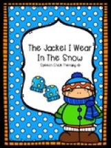 "The Jacket I Wear in the Snow"" Book Buddy"