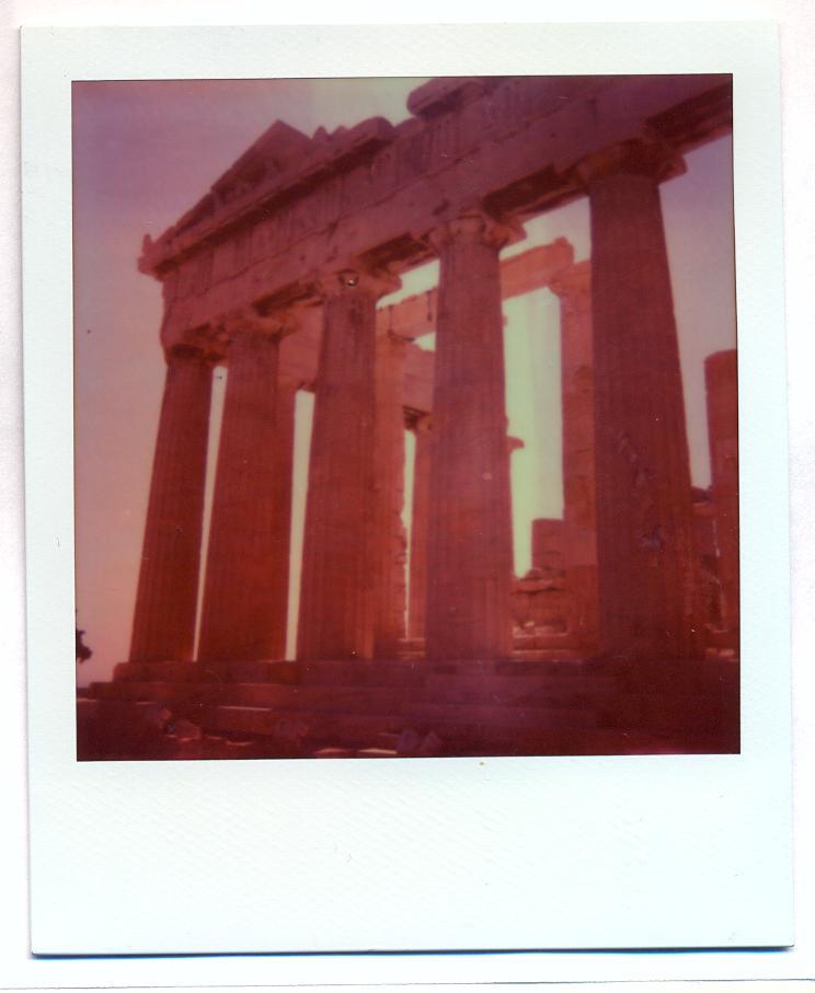 Polaroid 37: Acropolis 2