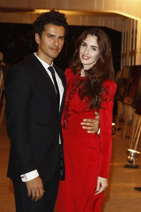 Paz Vega With Her Husband