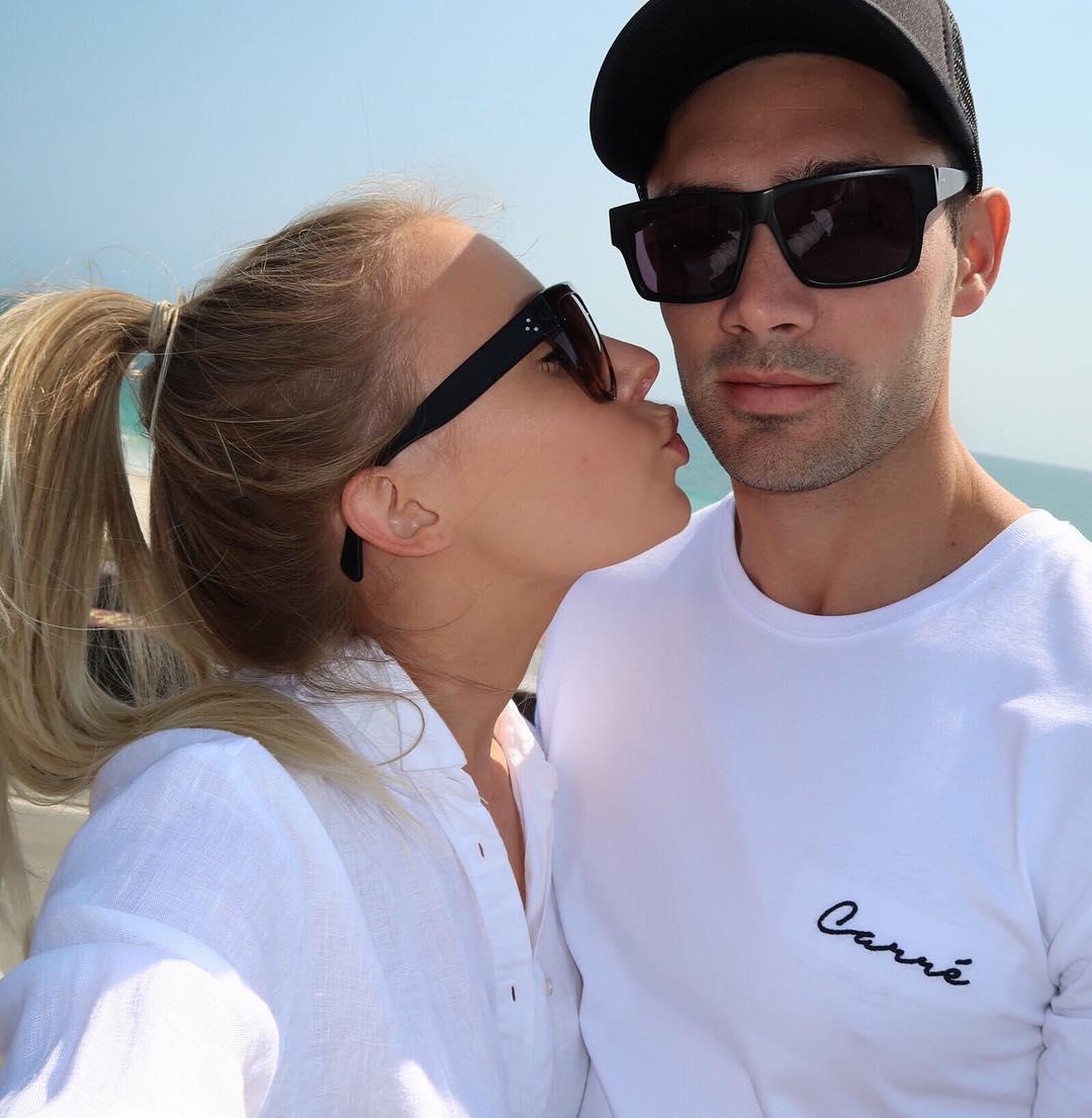 Lauren Curtis with her Boyfriend Reece