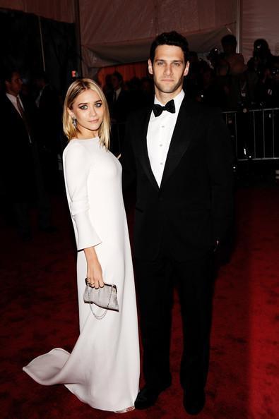 Ashley Olsen and her ex-boyfriend, Justin Bartha