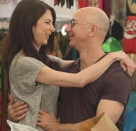 Mackenzie Bezos husband, spouse