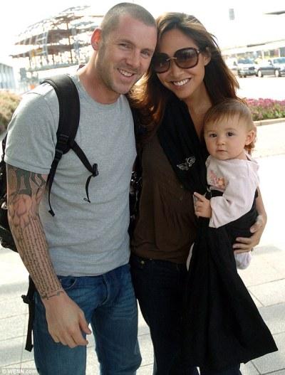 Myleene Klass husband, spouse, daughter