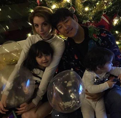 Park Joo-ho wife, kids
