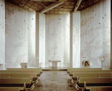 Church of the Assumption, Riola di Vergato, Italy, 1978, by Alvar Aalto.