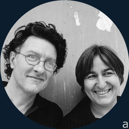 The architects Anne Lacaton and Jean Philippe Vassal