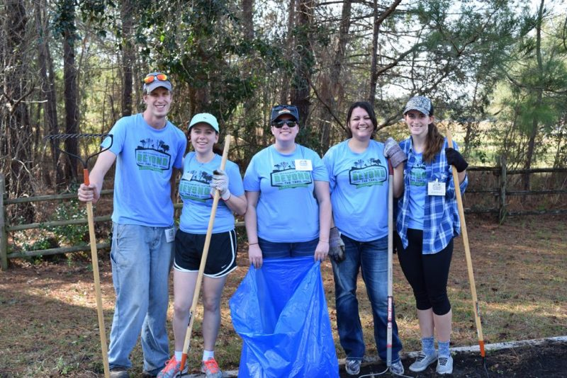 Student volunteers