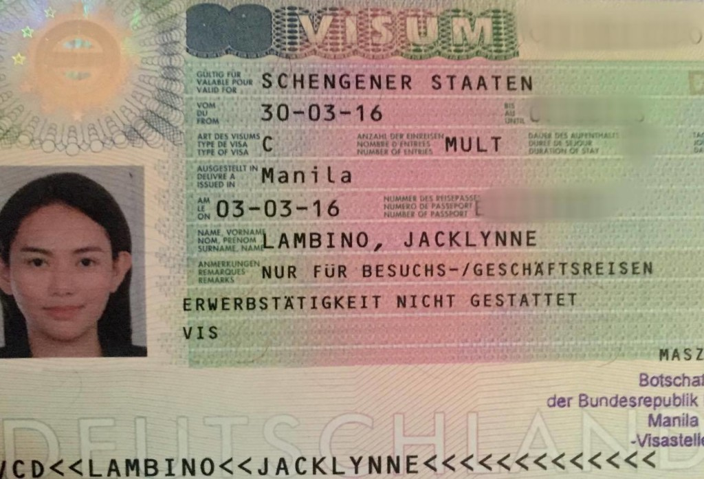 obtaining entry visas to germany the