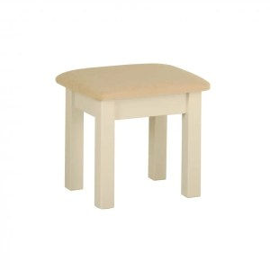 lundy painted stool with padded seat. various colours DS10