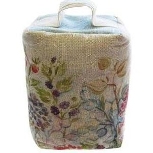 Voyage Maison Doorstop - Hedgerow printed on scottish linen with handy loop at top for easy lifting DS120044