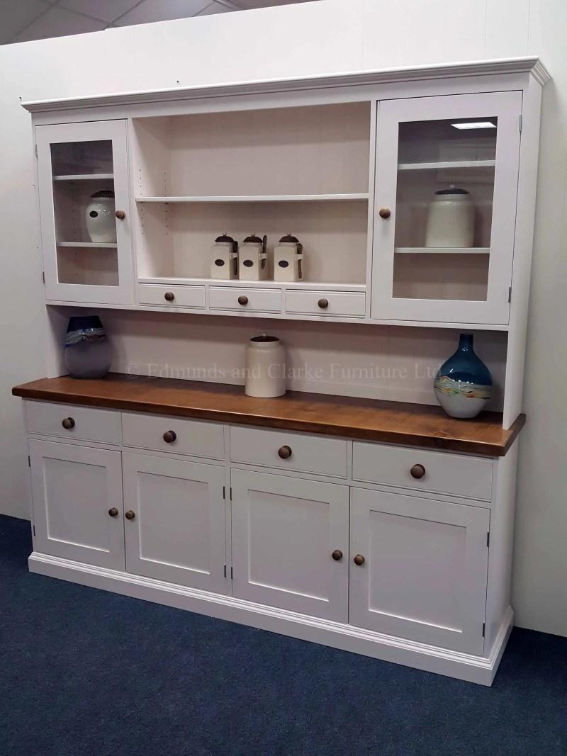 Painted kitchen dresser 7ft wide