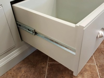 Image showing Smooth Action Drawer Runner available for Edmunds & Clarke Made to measure furniture