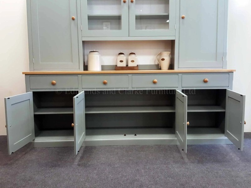 Edmunds painted large wide 8' dresser, choose your colour / top and handles
