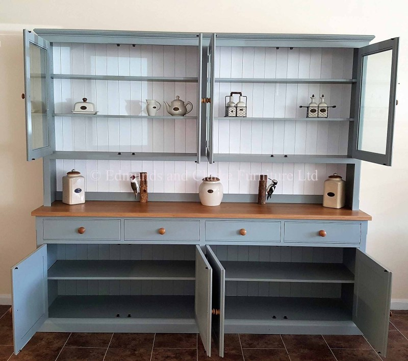 Huge 8ft wide kitchen dresser with ample of storage