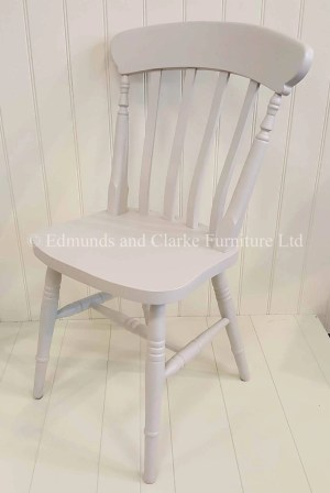 Edmunds Farmhouse Chair. perfect with our farmhouse tables available in 10 colours