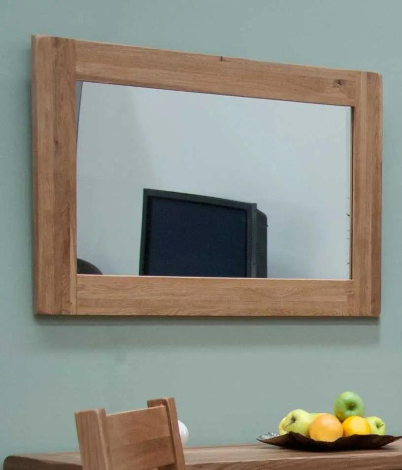 lavenham oak wall mirror 90 x 60