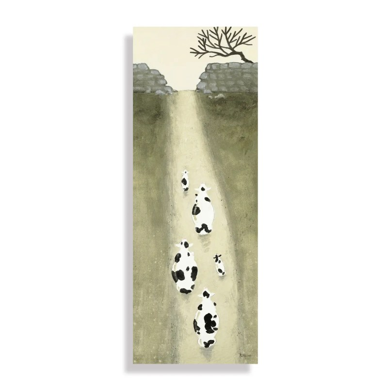 The Milk run Small wall canvas. AC1539 by art marketing