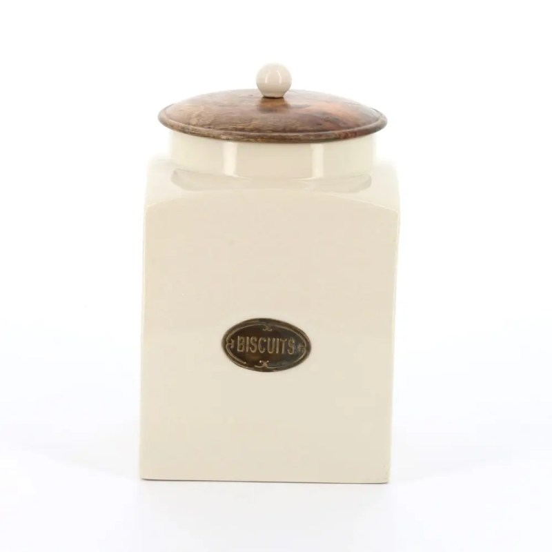 county-kitchen biscuit store with wood lid