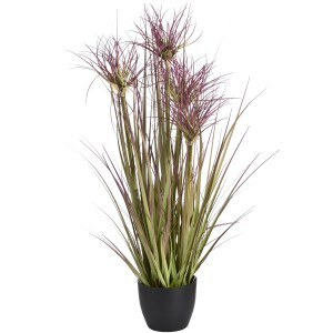 Water bamboo grass 24inc faux in own pot h