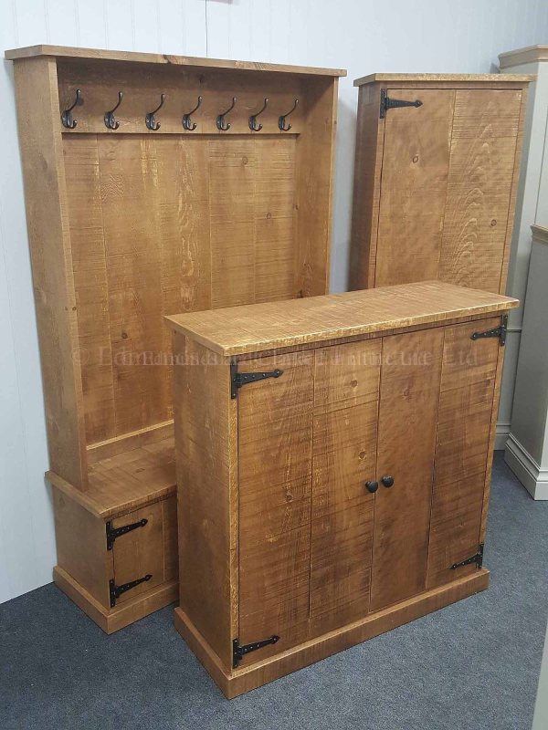 Solid Rustic rough sawn Furniture Made To Measure