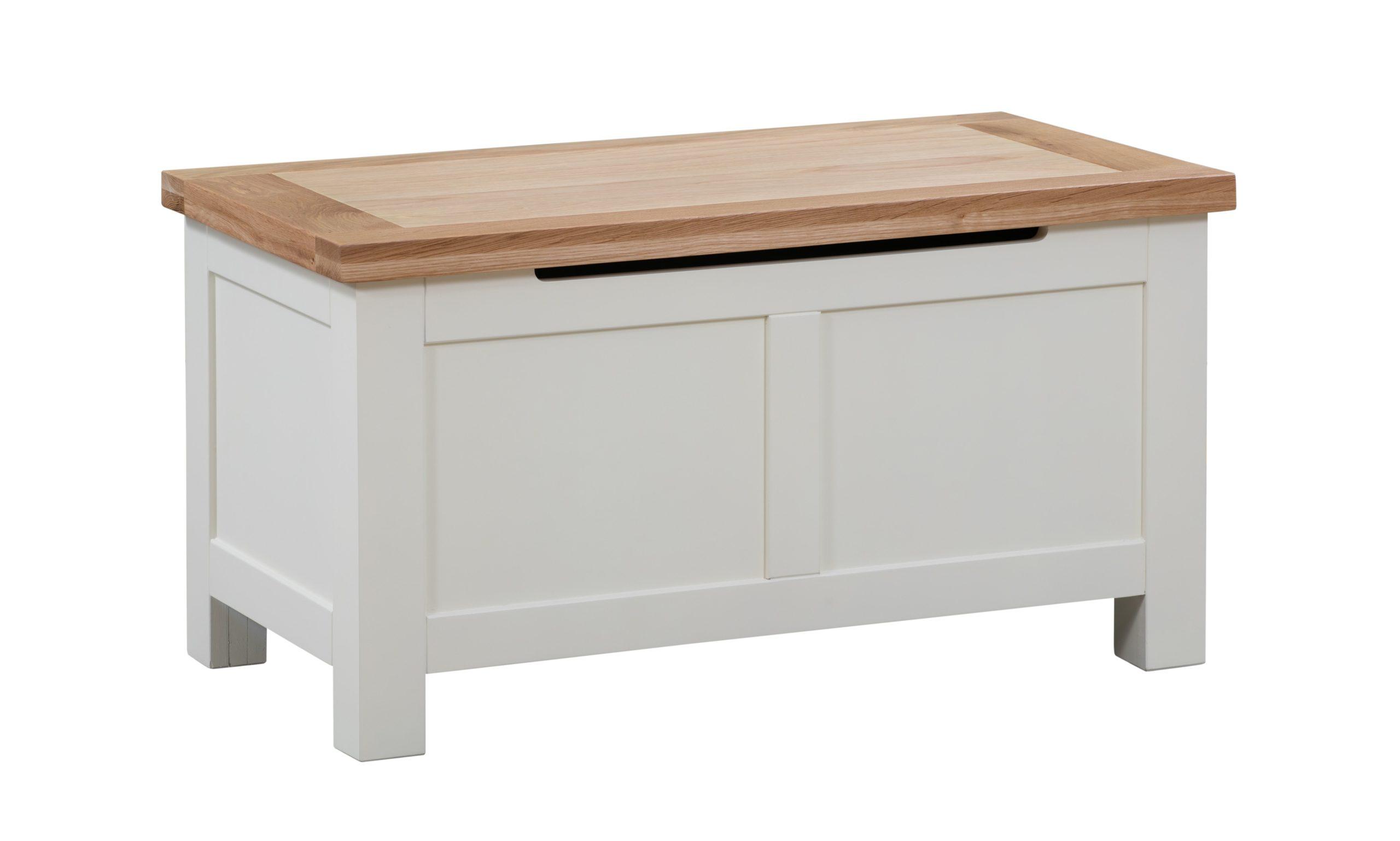 Dorset Oak Furniture Blanket Box