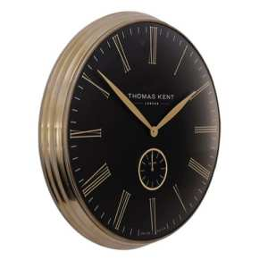 "Thomas Kent 28""greewich timekeeper grand bronze blk"