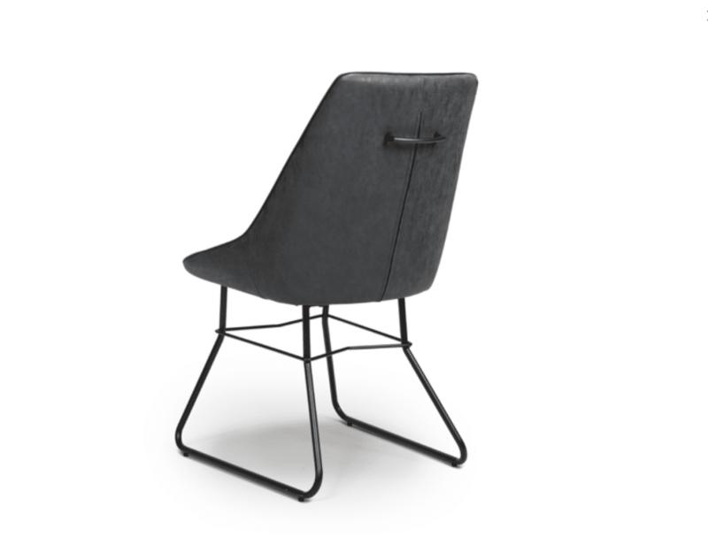 Cooper chair wax grey back