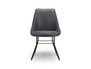 Cooper dining chair wax grey