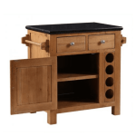 Small Kitchen Island With Granite Top With Wine Rack Edmunds Clarke