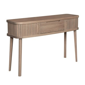Tambour Grey console table 1