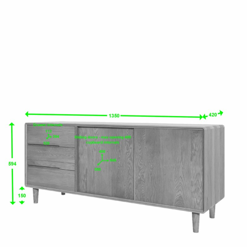 SCAWU scandic wide unit measures