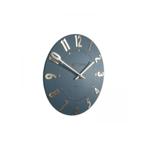 Thomas kent 12inch mulberry wall clock midnight