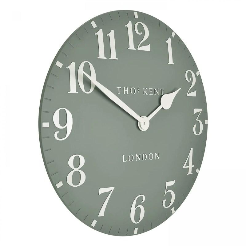 Thomas kent 20inch wall clock seagrass