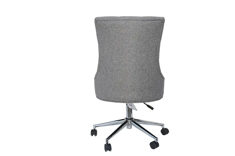 grey office wing chair 2