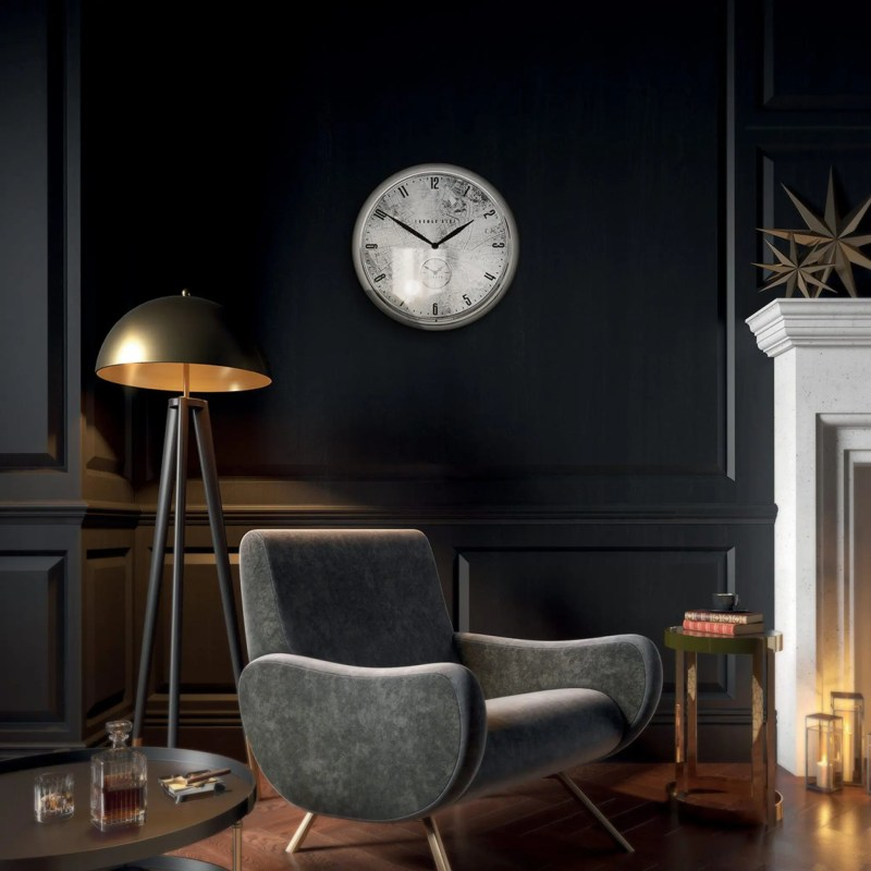 thomas kent 19 inch Greenwich Timekeeper londoner chrome V2