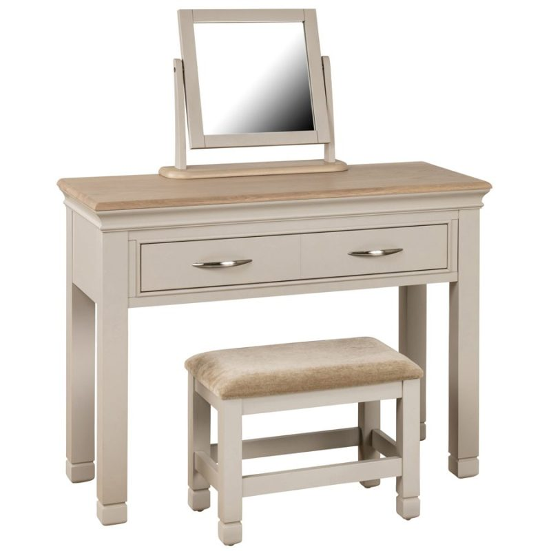 Aldeburgh dressing table and mirror and stool NEW img