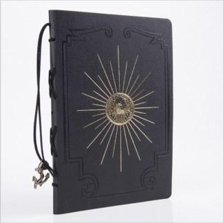 Pirate Captains Log Book - Black