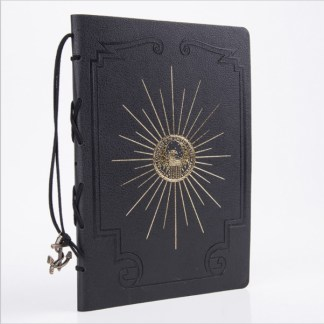 Pirate Captains Log Book - Black