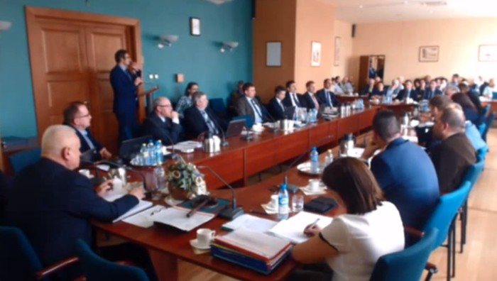 VI Sesja Rady Miejskiej w Wolsztynie