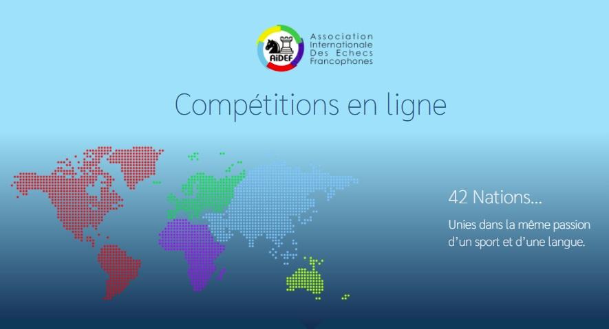Coupe d'échecs en ligne par équipes de la Francophonie