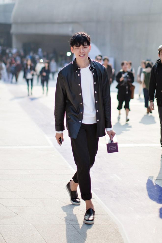 On the street… Han Seungsoo Seoul fashion week 2016 SS