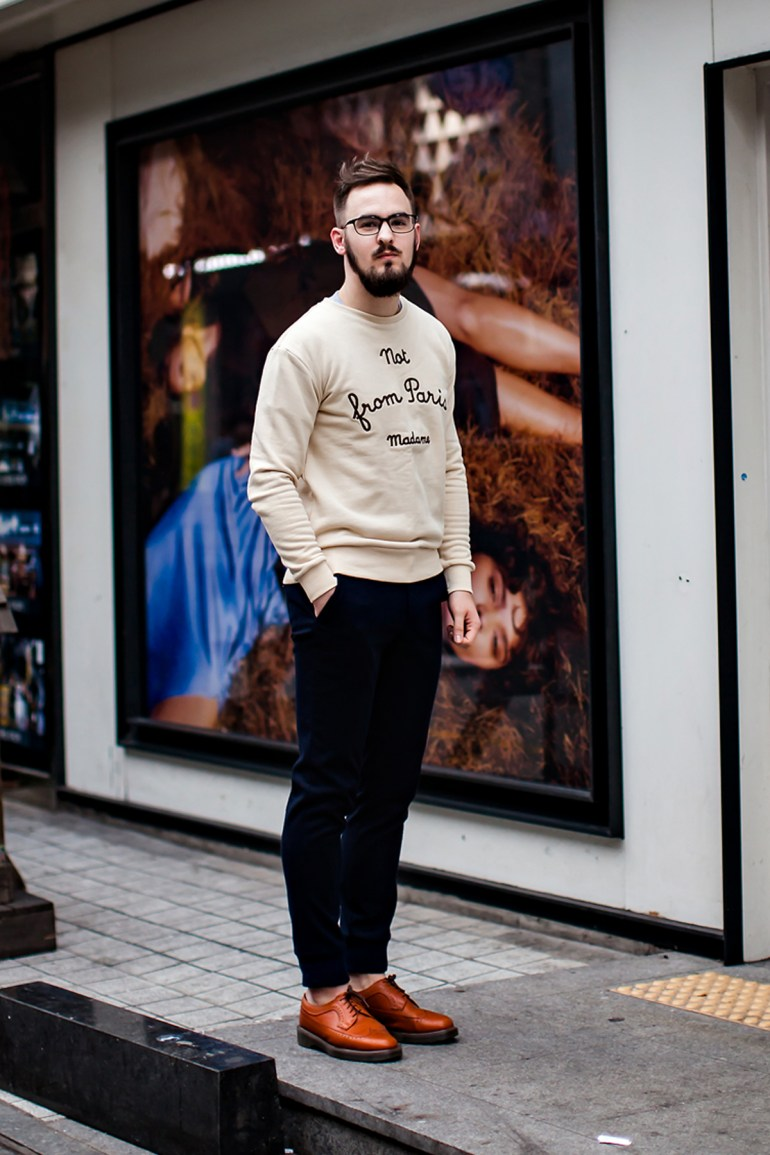 On the street… Alex Busan
