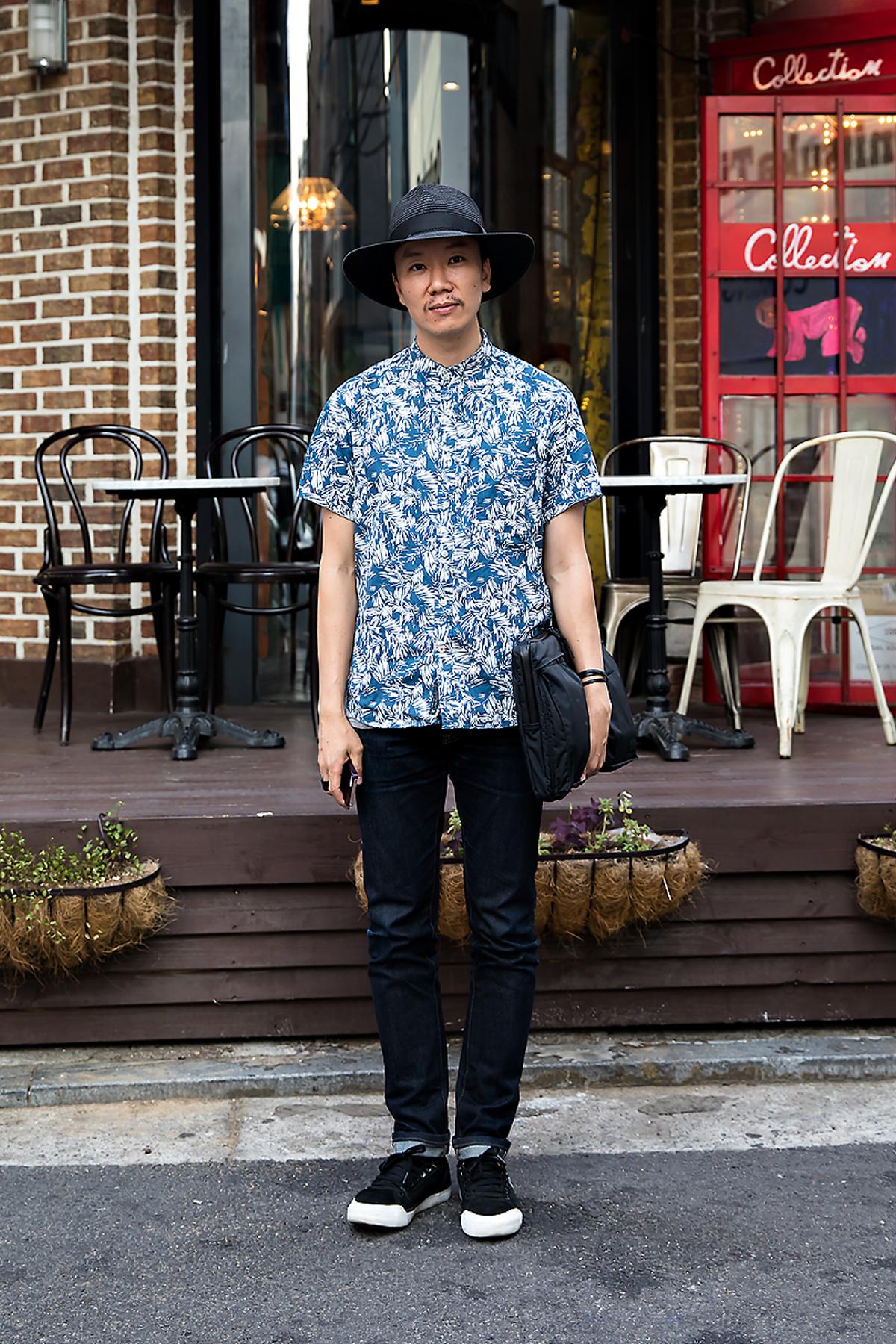 Kim Hwanki, Street Fashion 2017 in Seoul