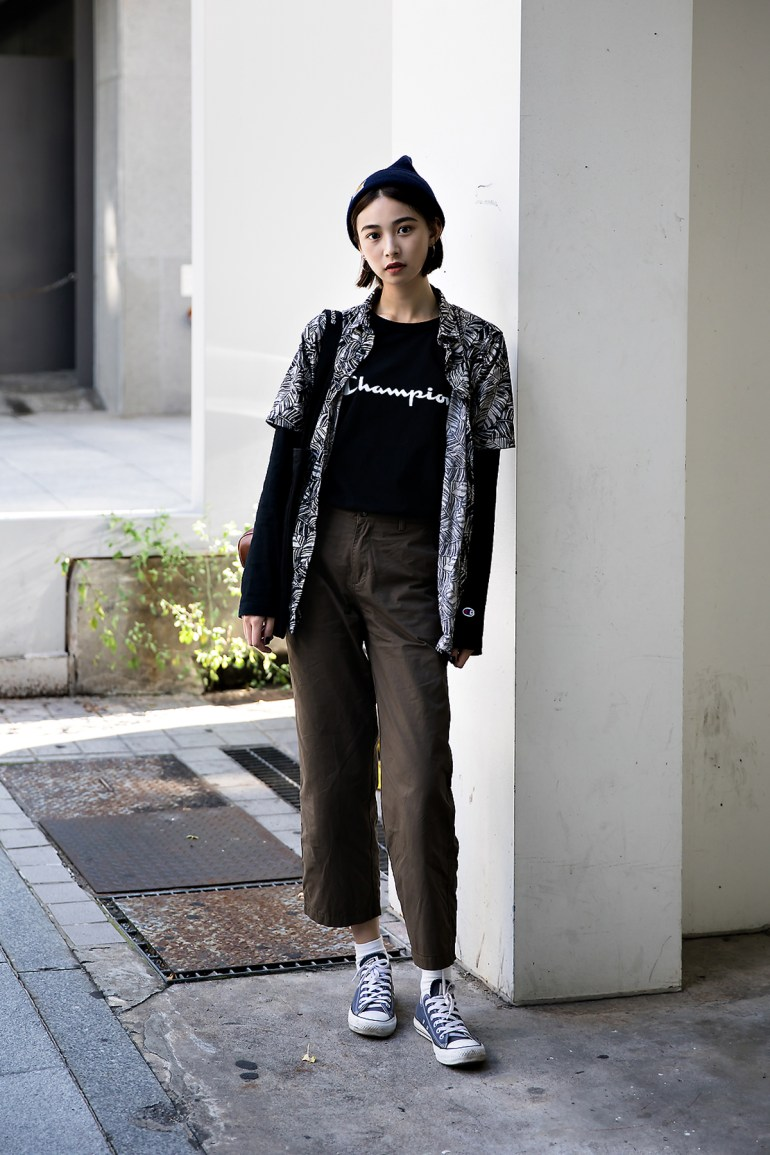 Jeung Mincheop, Street Fashion 2017 in Seoul