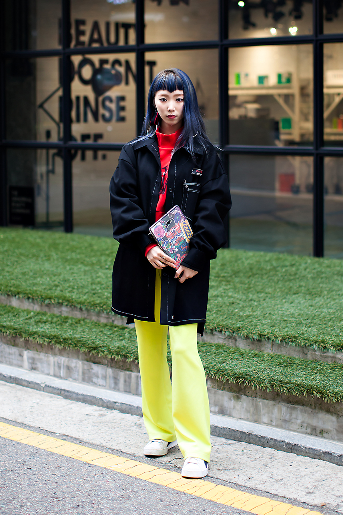 Nam Hyojung, Street Fashion 2017 in Seoul.jpg