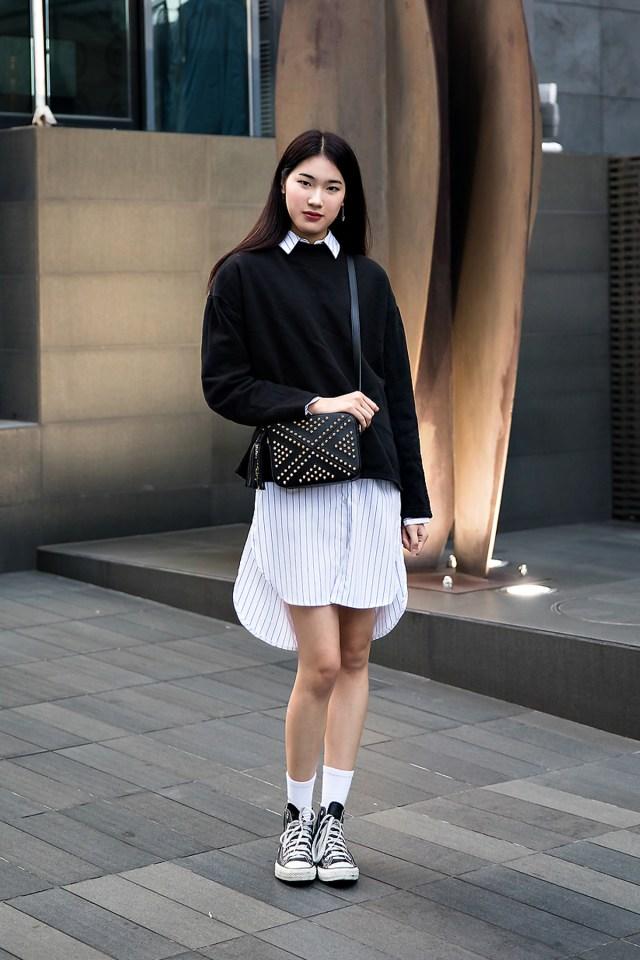 Cho Kyungeun, Street style women fall 2017 inseoul