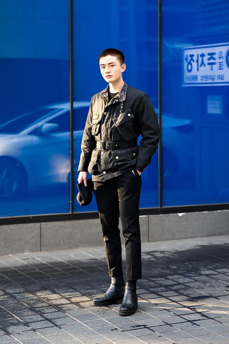 Jang Sungwoo, Street style men winter 2017-2018 inseoul