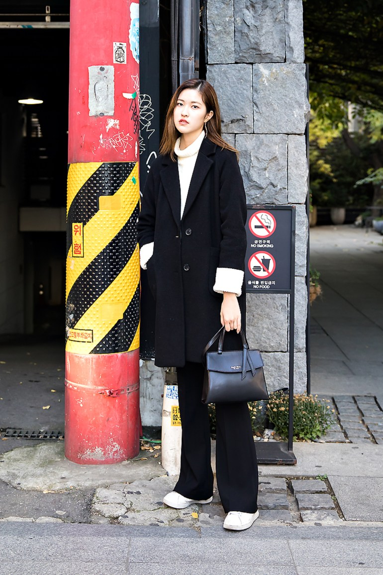 Kim Hyunseo, Street style women winter 2017 inseoul