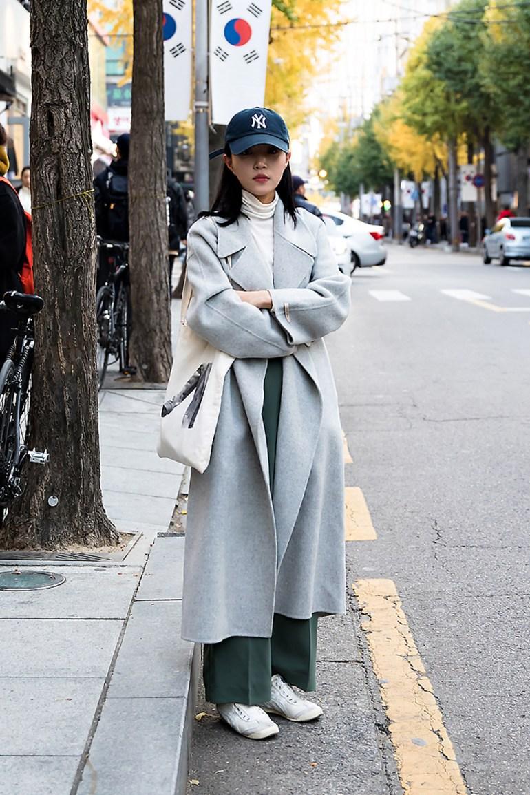 Kim Jieun, Street style women winter 2017 inseoul